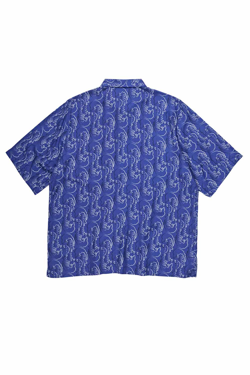 Polar Skate Co Art Shirt Faces - Blue