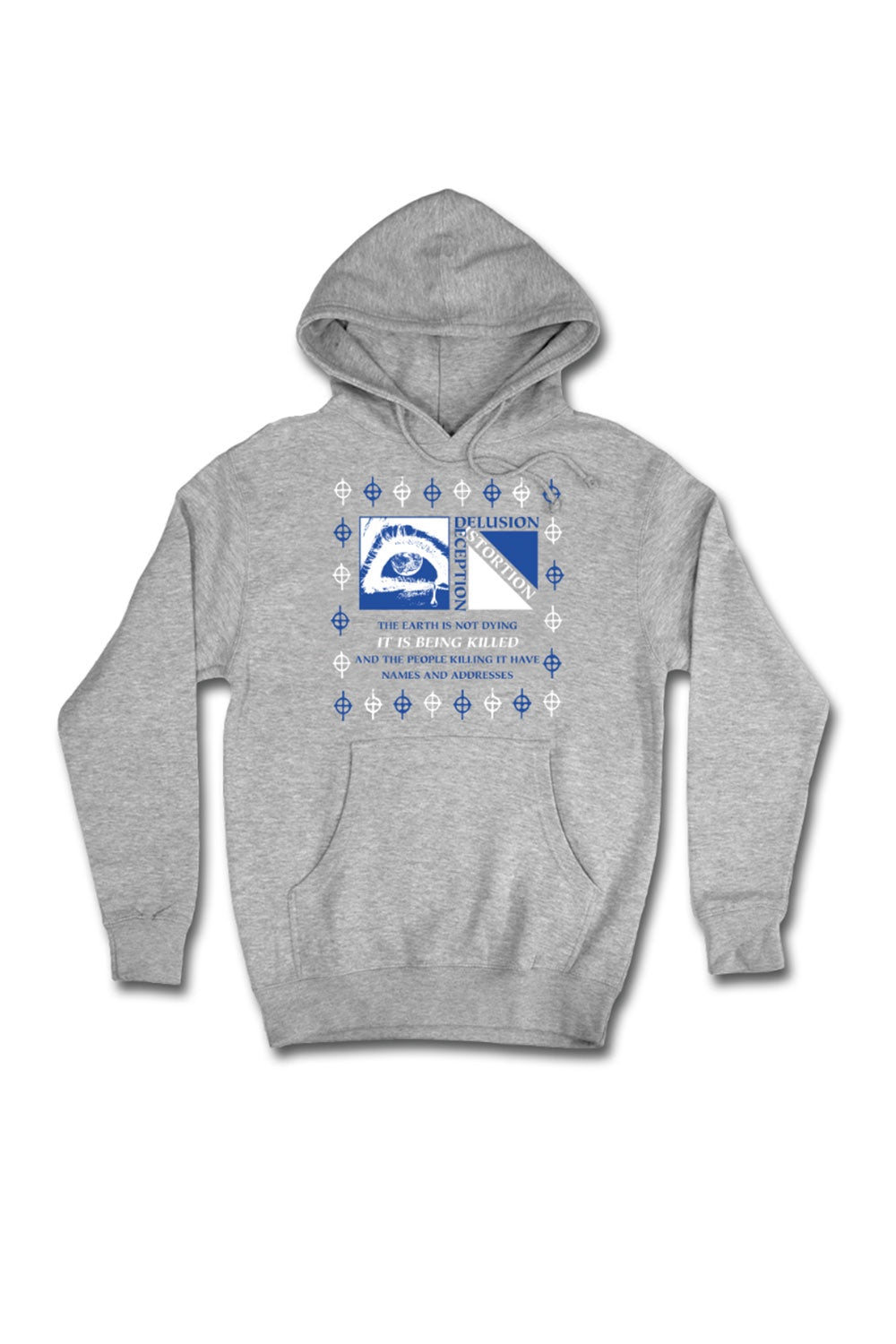 Come Sundown Earth Hoodie - Athletic Heather