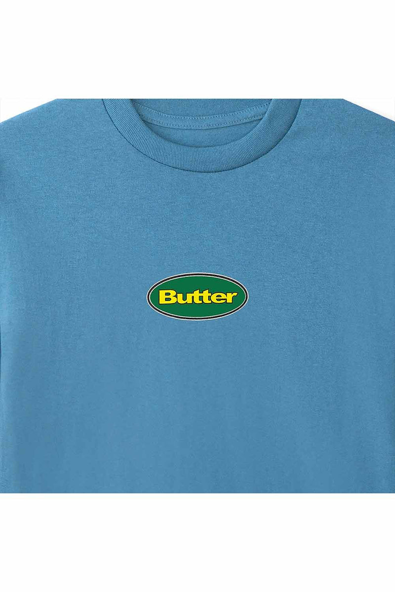 Butter Goods Badge LS Tee - Slate
