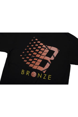 Bronze 56K Basketball Logo T-Shirt - Black
