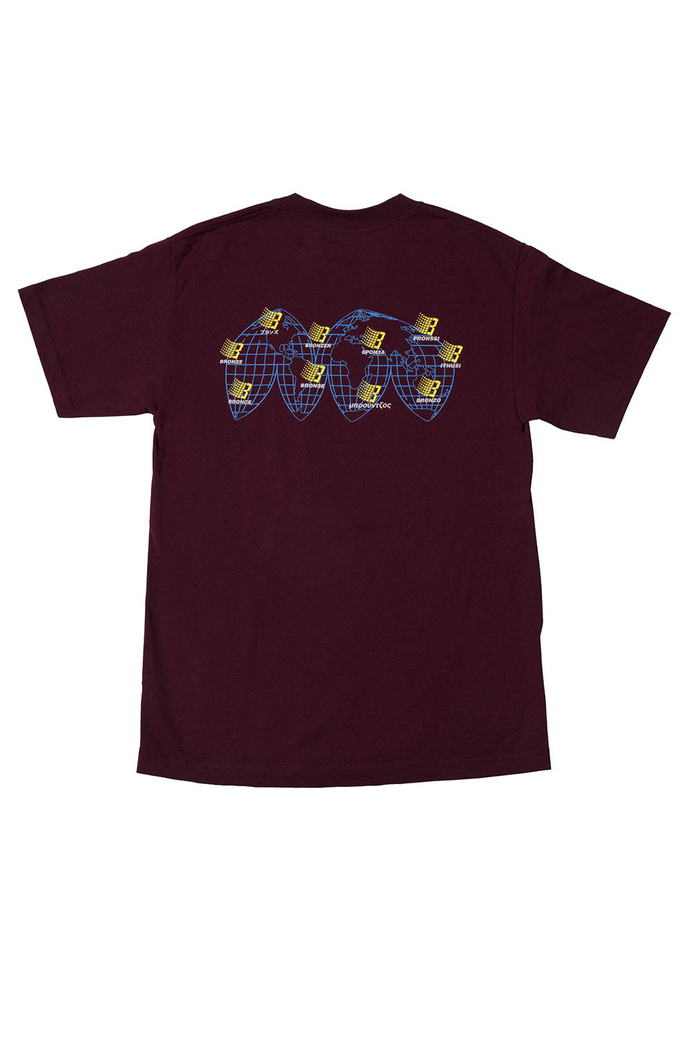 Bronze 56K International T-Shirt - Burgundy