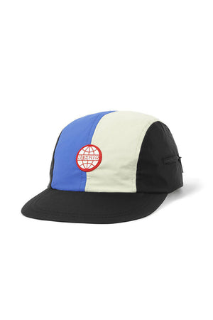 Butter Goods Foley Camp Cap - Black/Royal/Cream