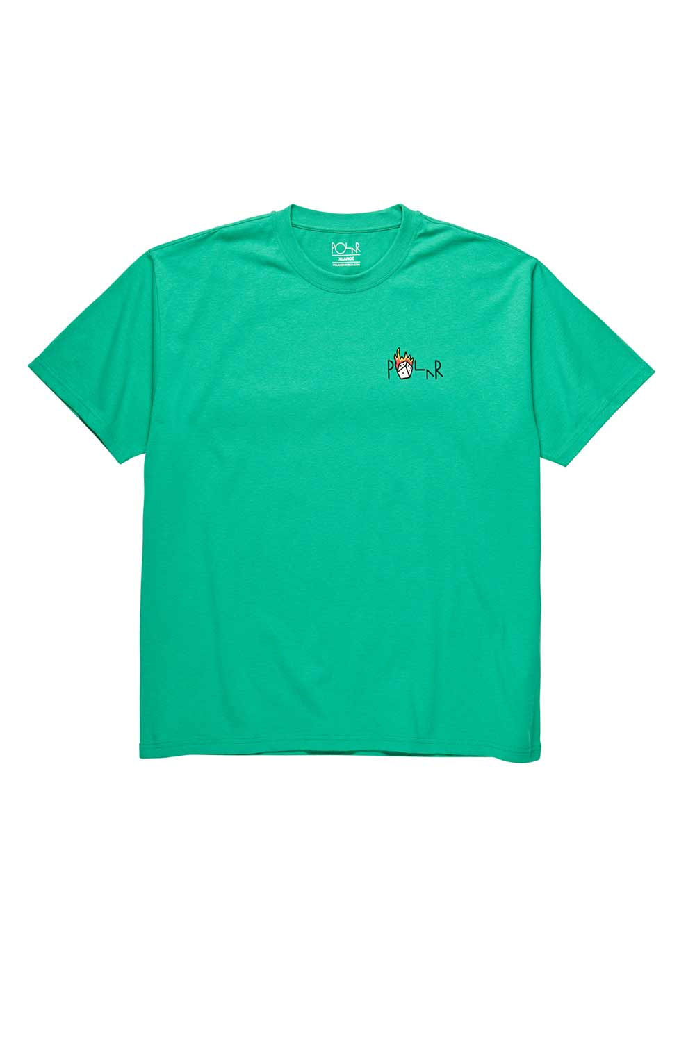 Polar Skate Co Castle Fill Logo Tee - Green
