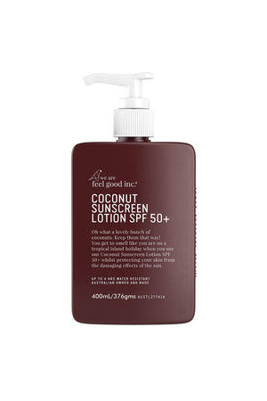 Coconut Sunscreen Lotion - SPF 50+