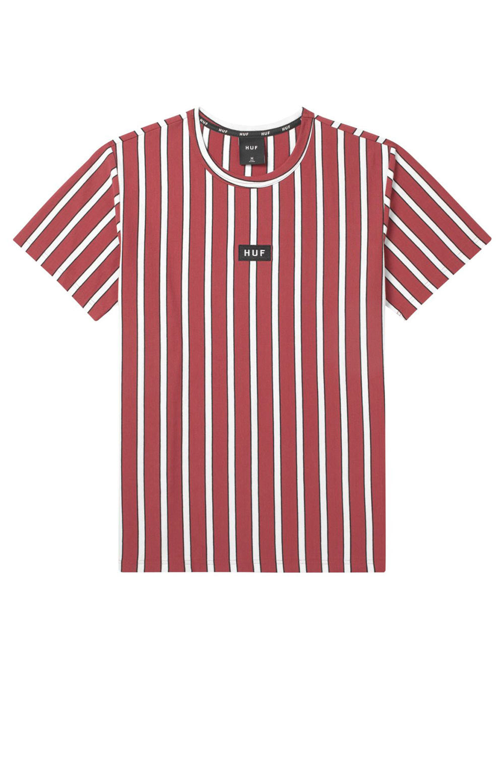 HUF Dexter Stripe Knit Top - Rosewood Red