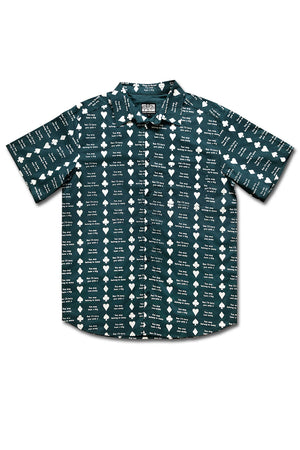Come Sundown Diamond S/S Button Up