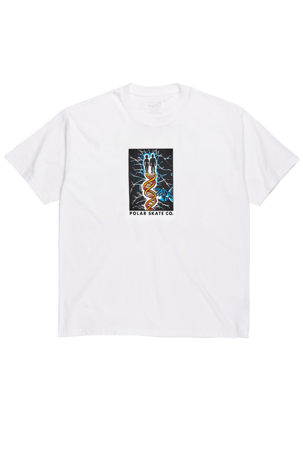 Polar Skate Co DNA Tee - White | Shop Polar Skate Co Online