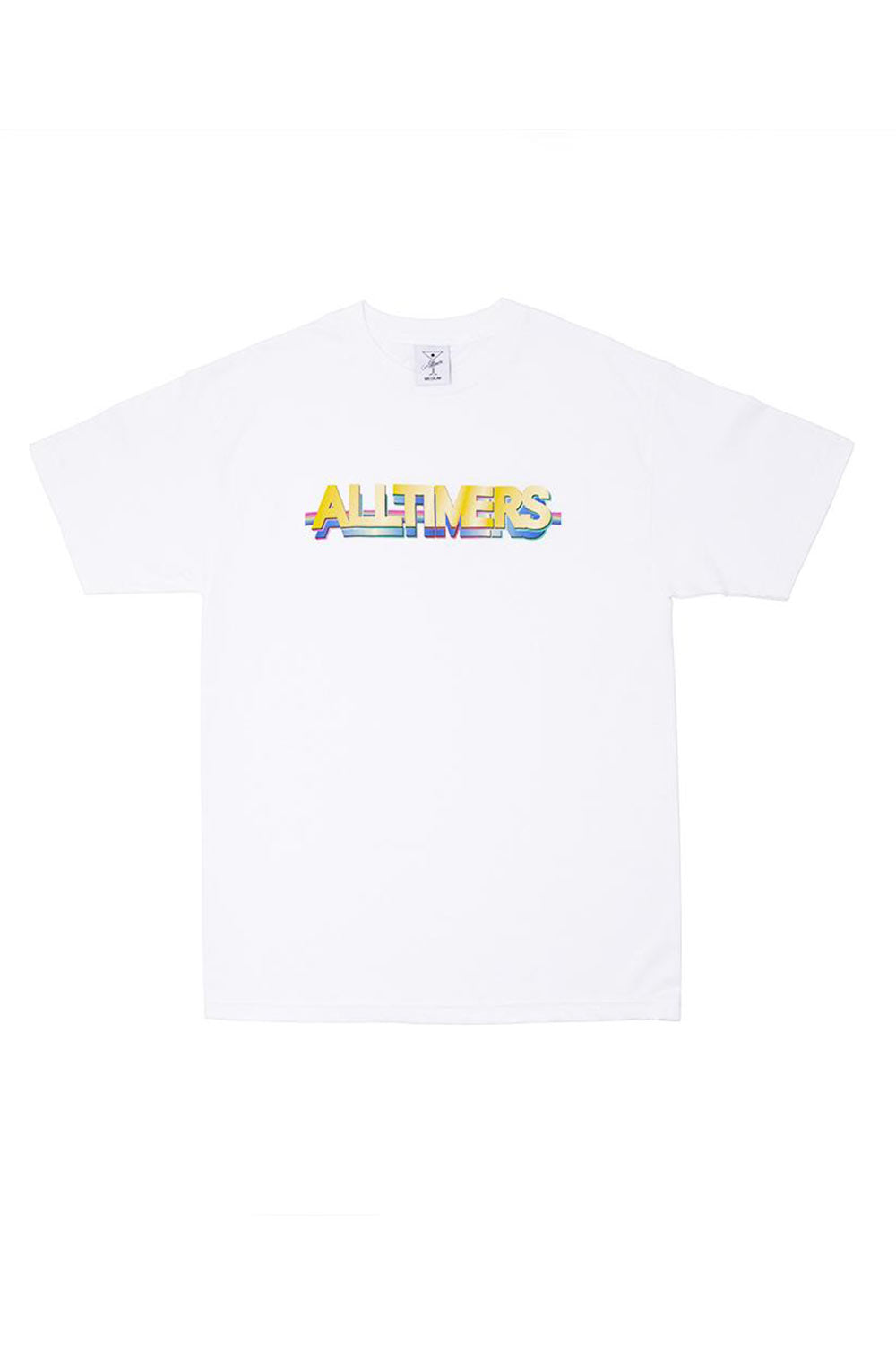 Alltimers Feature Tee - White