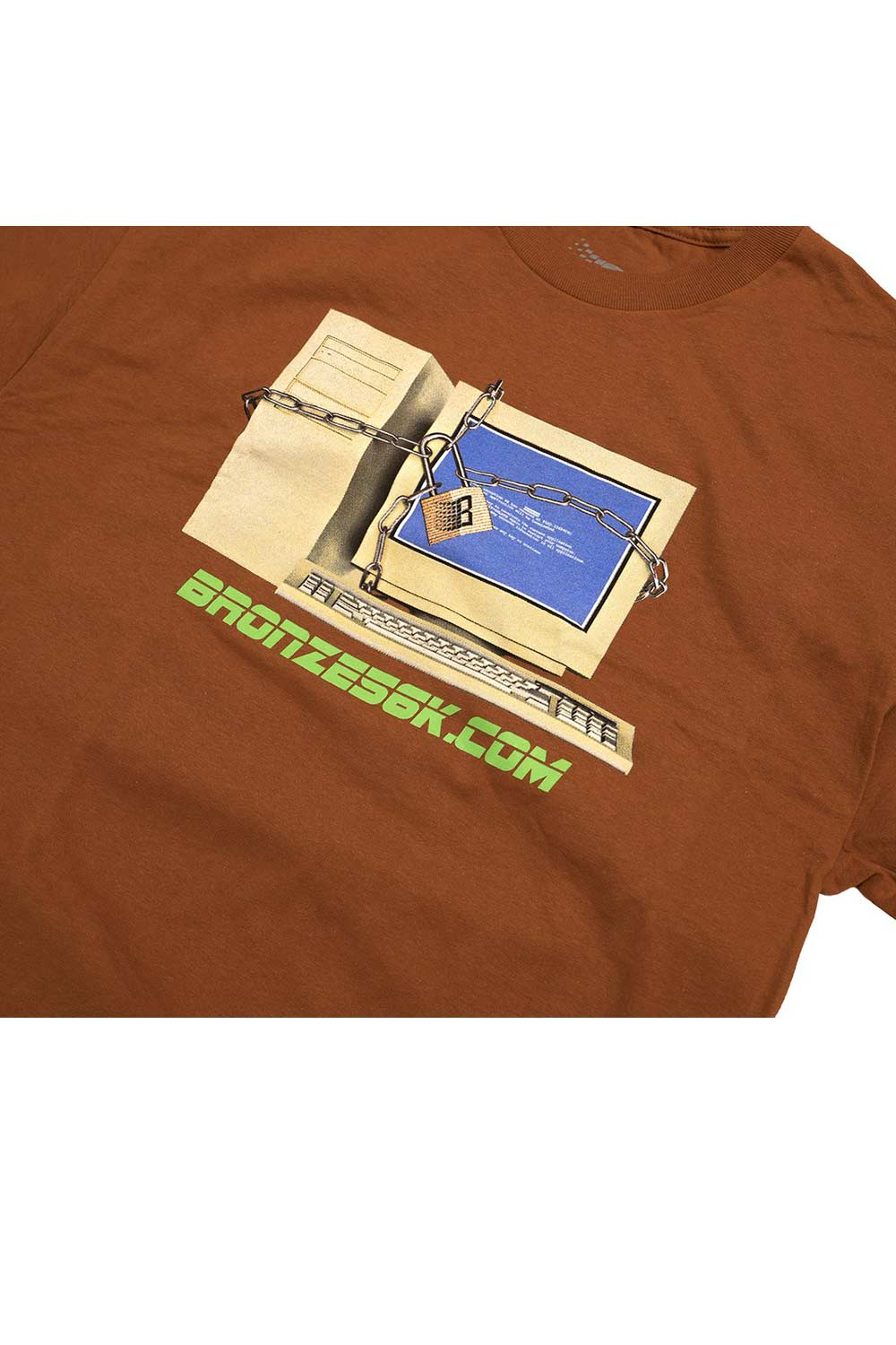 Bronze 56K Firewall Tee - Texas Orange