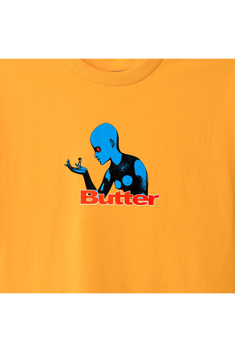 Butter Goods Fantastic Planet Tee - Gold