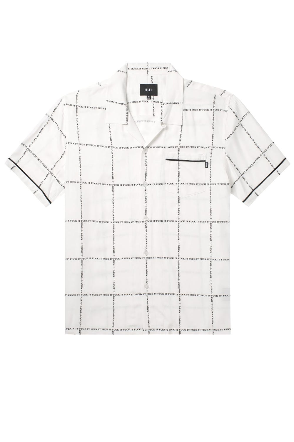 HUF Fuck It Woven Shirt - White