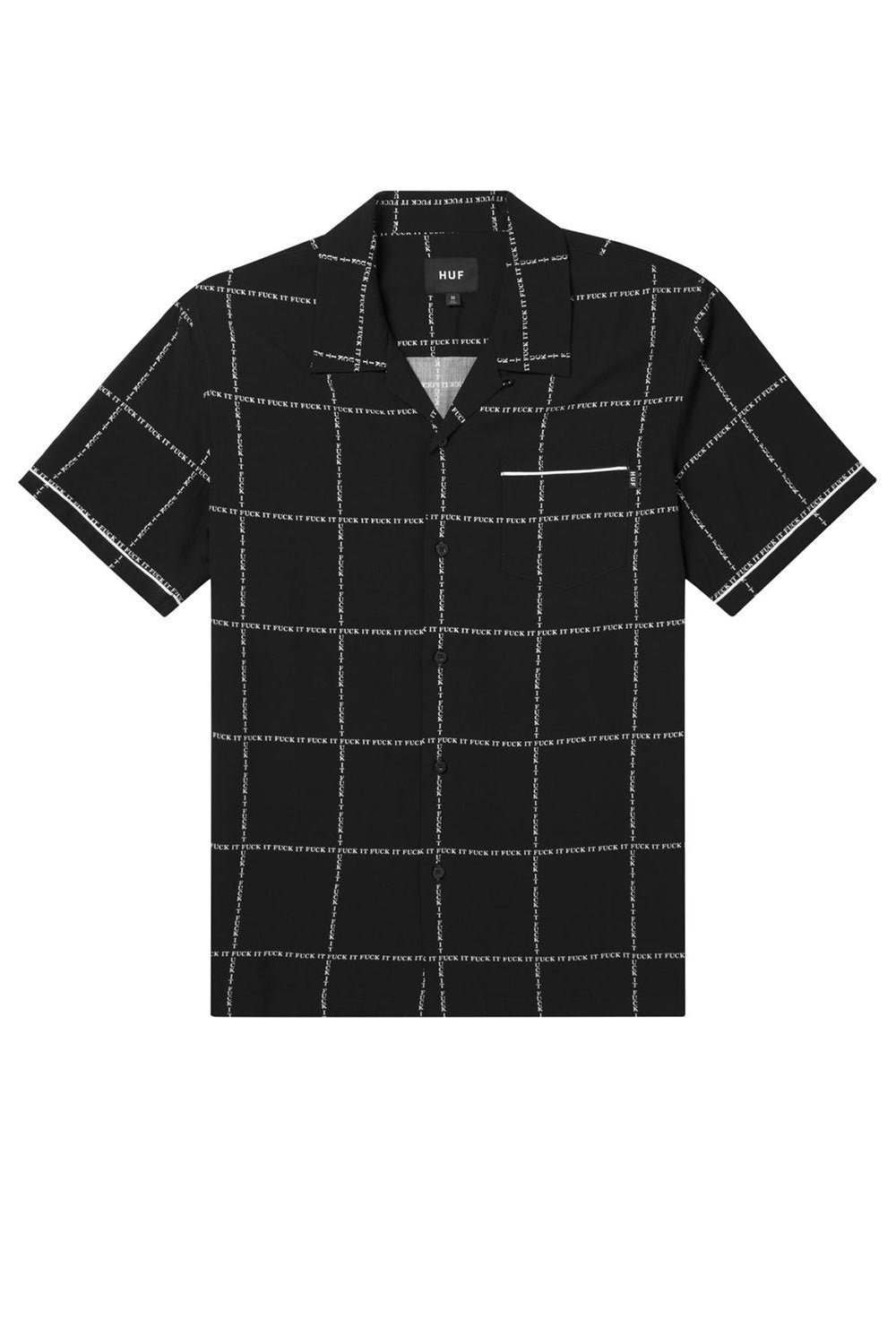HUF Fuck It Woven Shirt - Black
