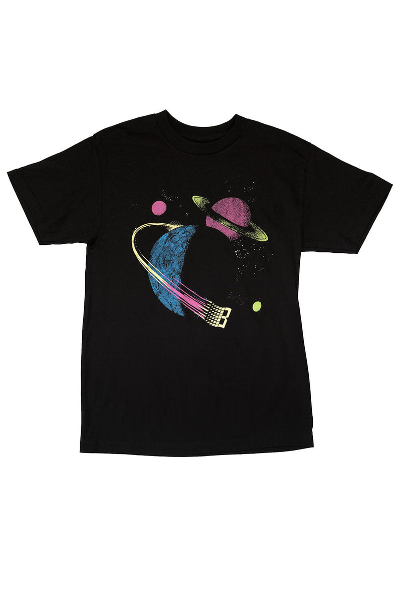 Bronze 56K Galaxy T-Shirt - Black