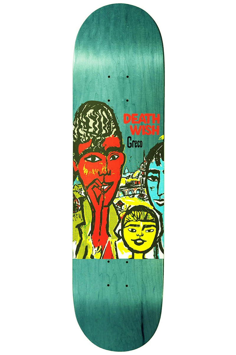 Deathwish Greco Street Kids Deck - 8.475"