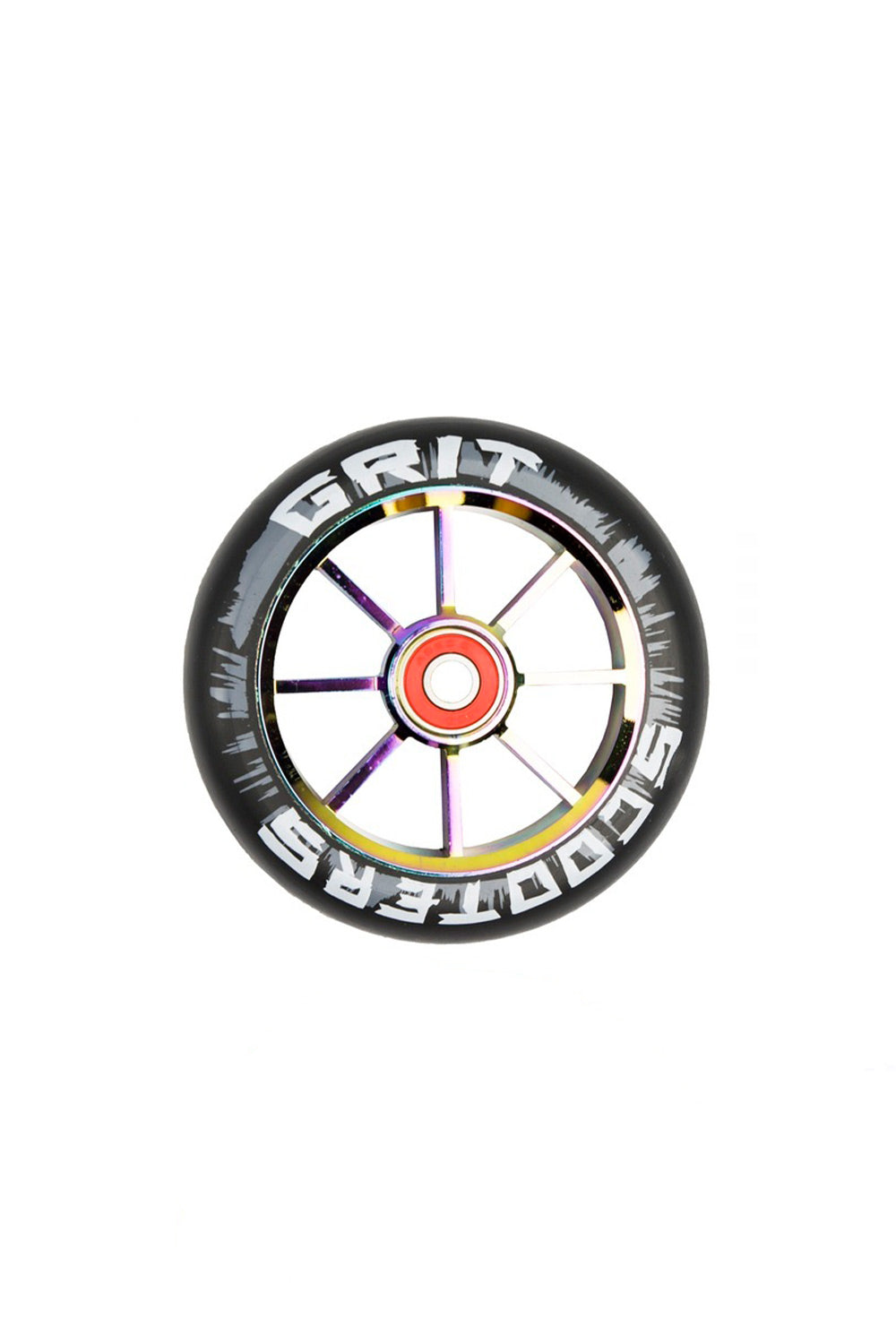 Grit Scooter Wheels | Grit 110mm 8 Spoke Alloy Core Scooter Wheel Pack