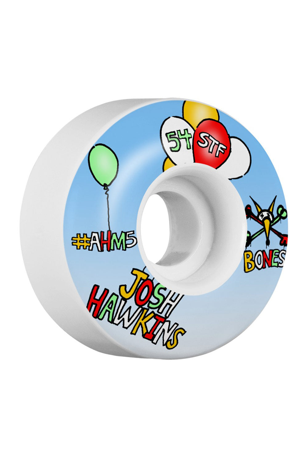 Bones Wheels STF Pro Hawkins Happy V1 Standard - 54mm