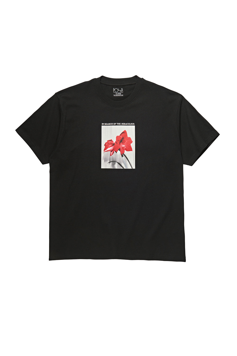 Polar Skate Co In Search of the Miraculous Tee - Black | Polar Skate Co Online