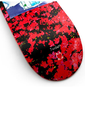 WKND Roses Are Red Jordan Taylor Deck - 8.25""