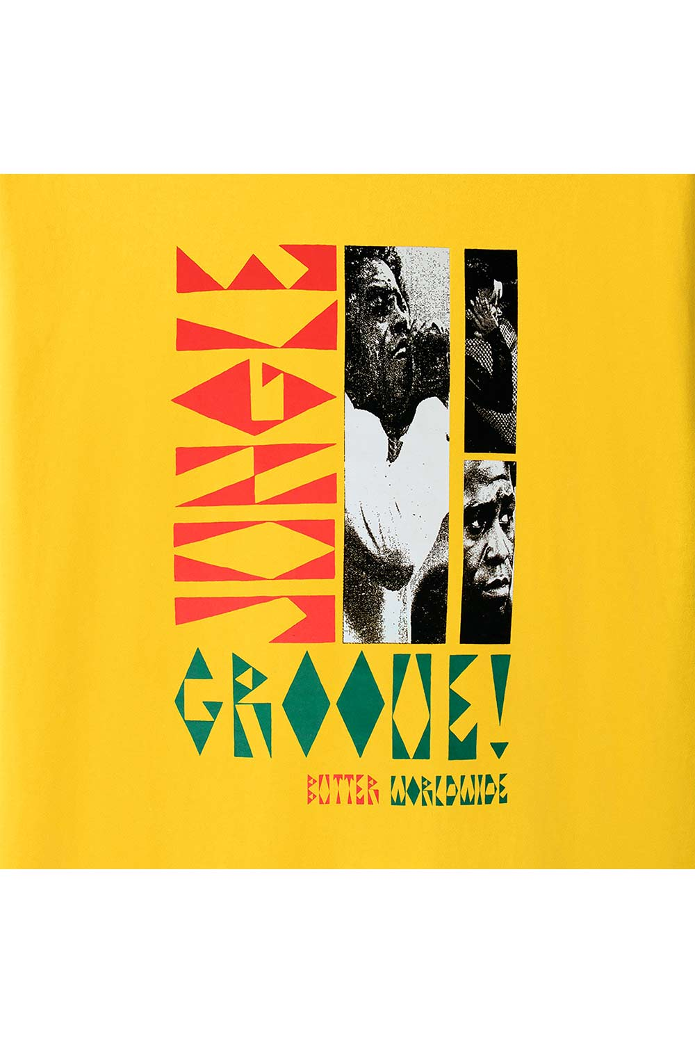Butter Goods Jungle Groove Tee - Yellow