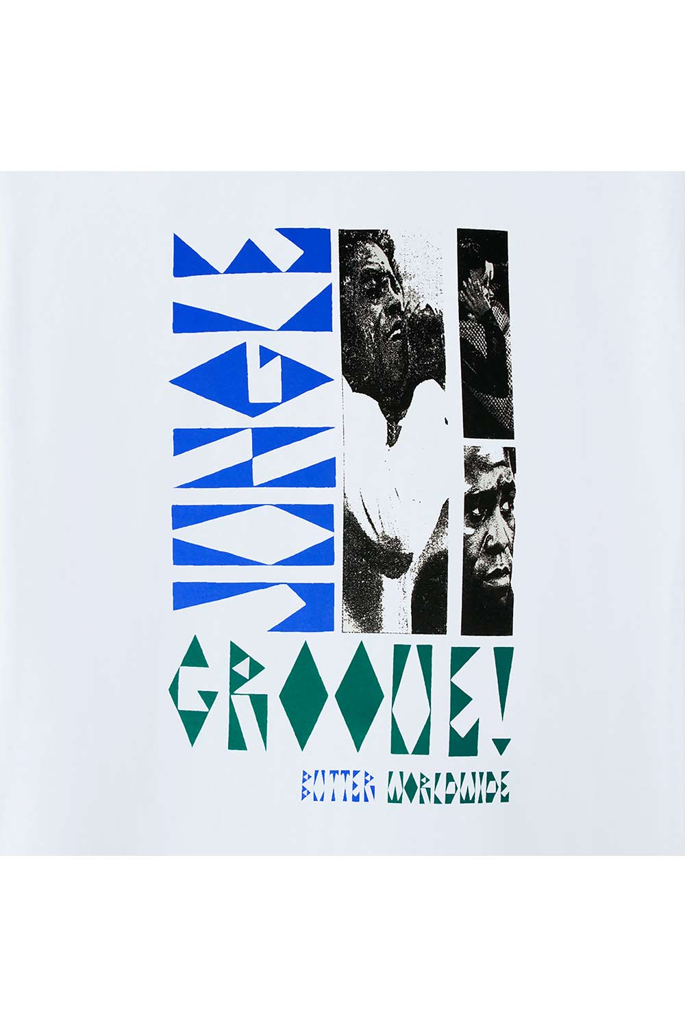 Butter Goods Jungle Groove Tee - White