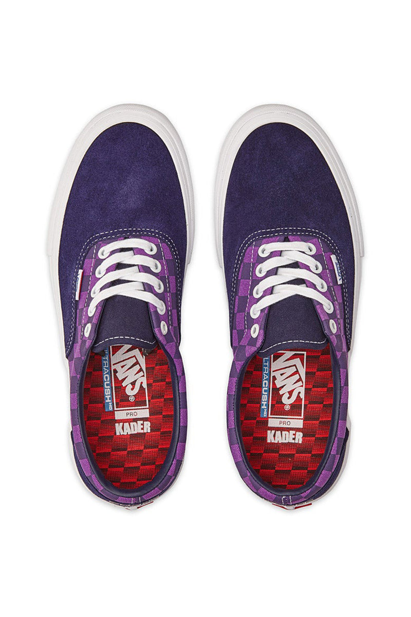 Vans X Baker Era Pro - Kader/Purple Check