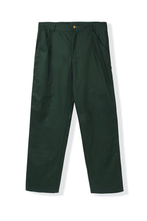 Butter Goods Campbell Work Pants - Dark Green | Shop Butter Goods Online