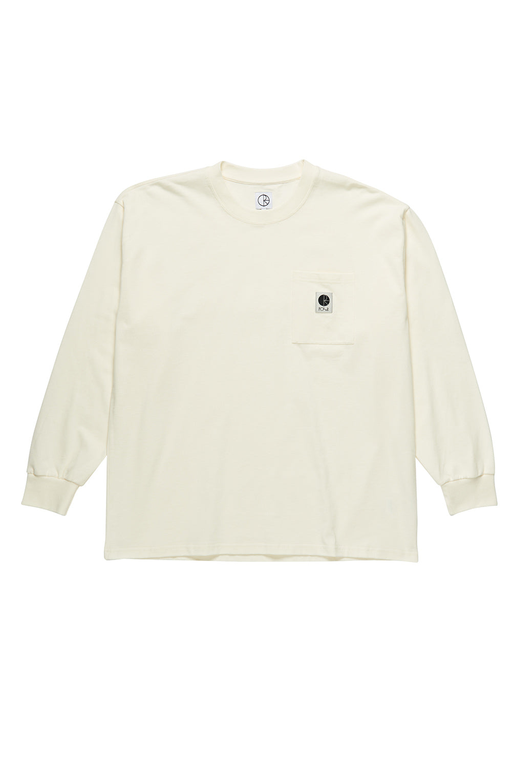 Polar Skate Co Pocket Longsleeve - Ivory | Buy Polar Skate Co Online