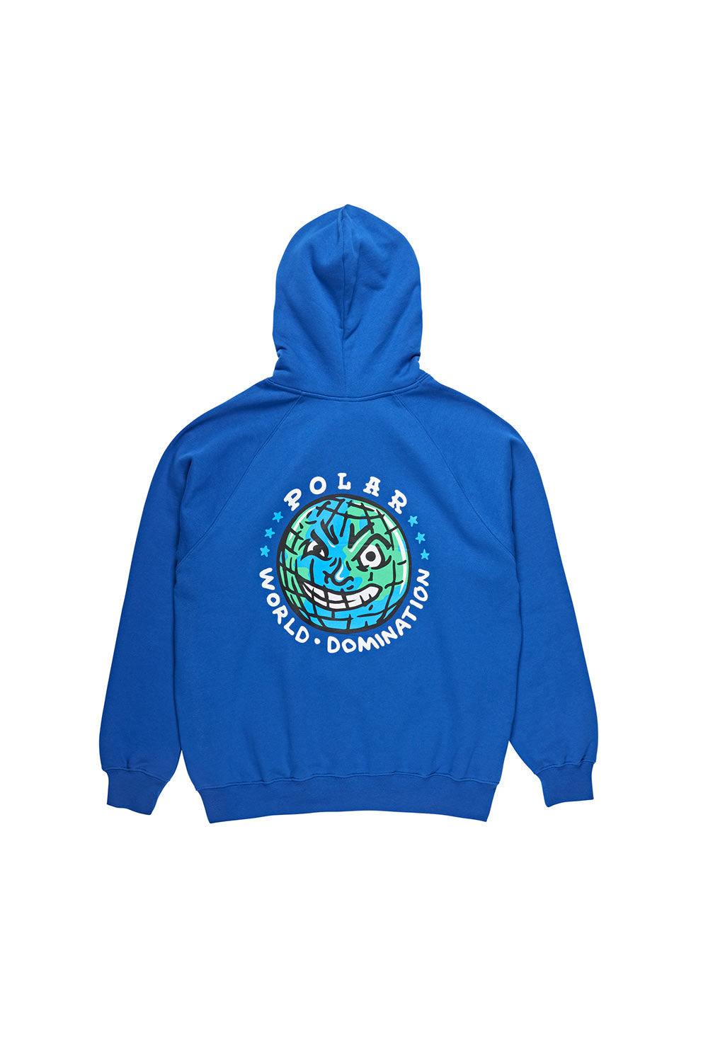 Polar Skate Co P.W.D Hoodie - Blue | Buy Polar Skate Co Online