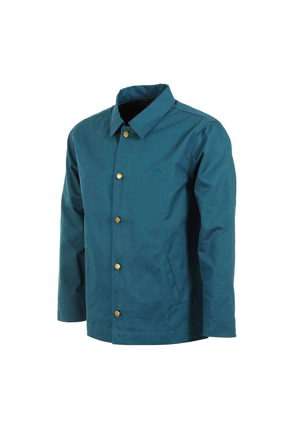 Passport Pool Workers Jacket - Forest Ocean