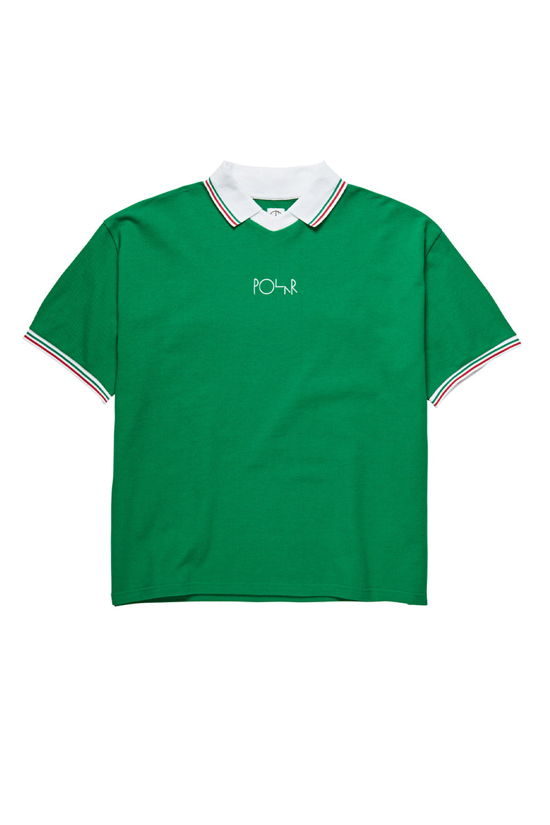 Polar Skate Co Pique Surf Tee - Green | Buy Polar Skate Co Online
