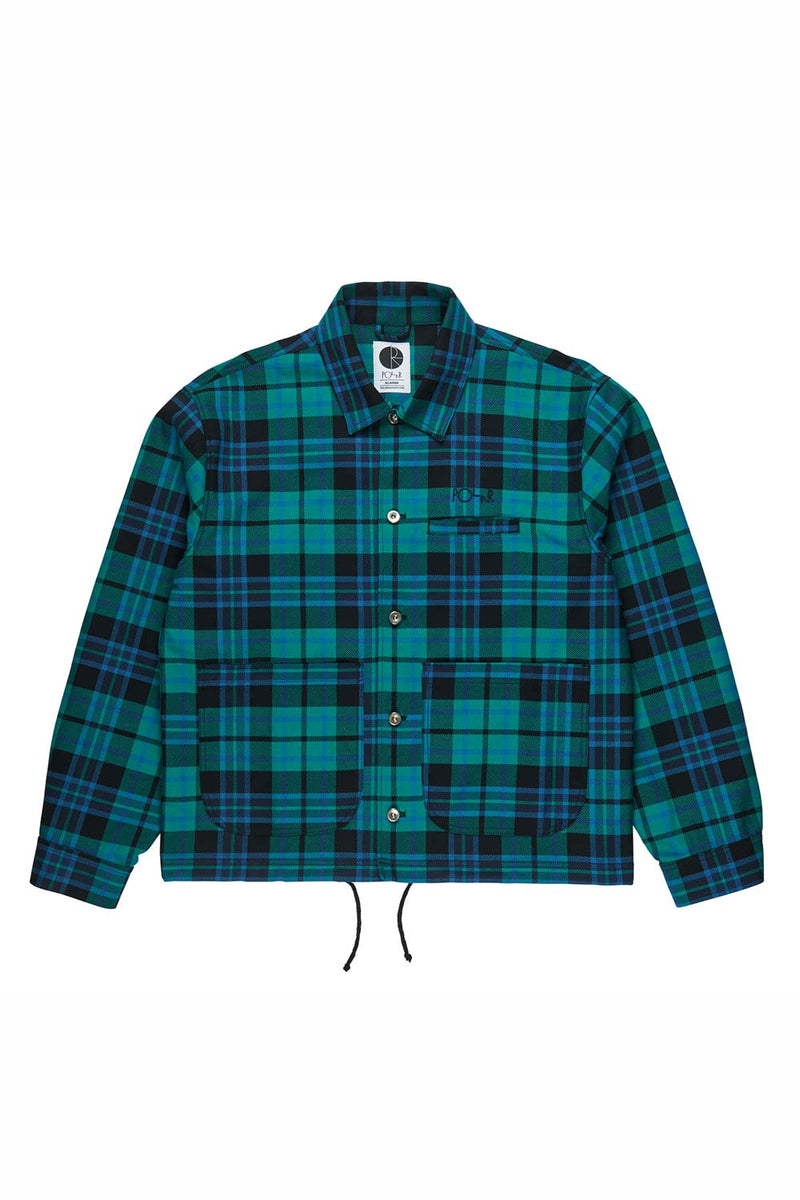 Buy Polar Skate Co Plaid Work Jacket | Buy Polar Skate Co Online