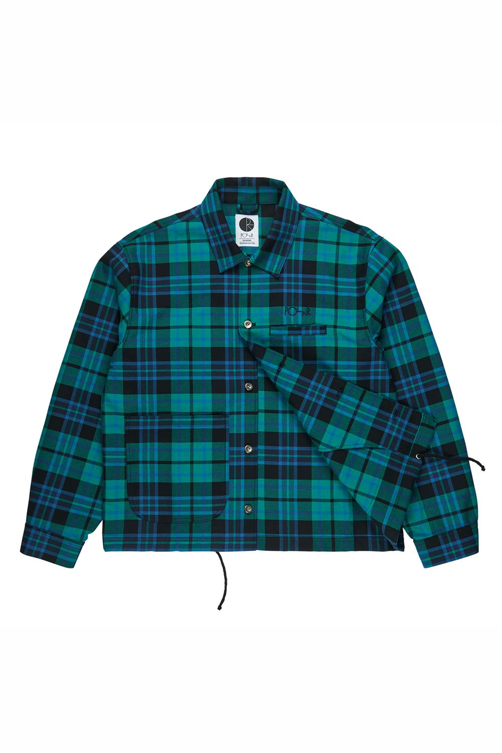PLAID WORK JACKET