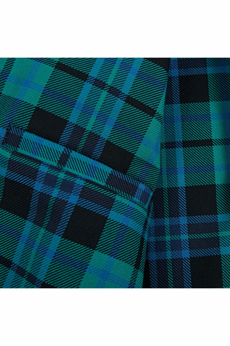 Polar Skate Co Plaid Work Jacket - Peppermint