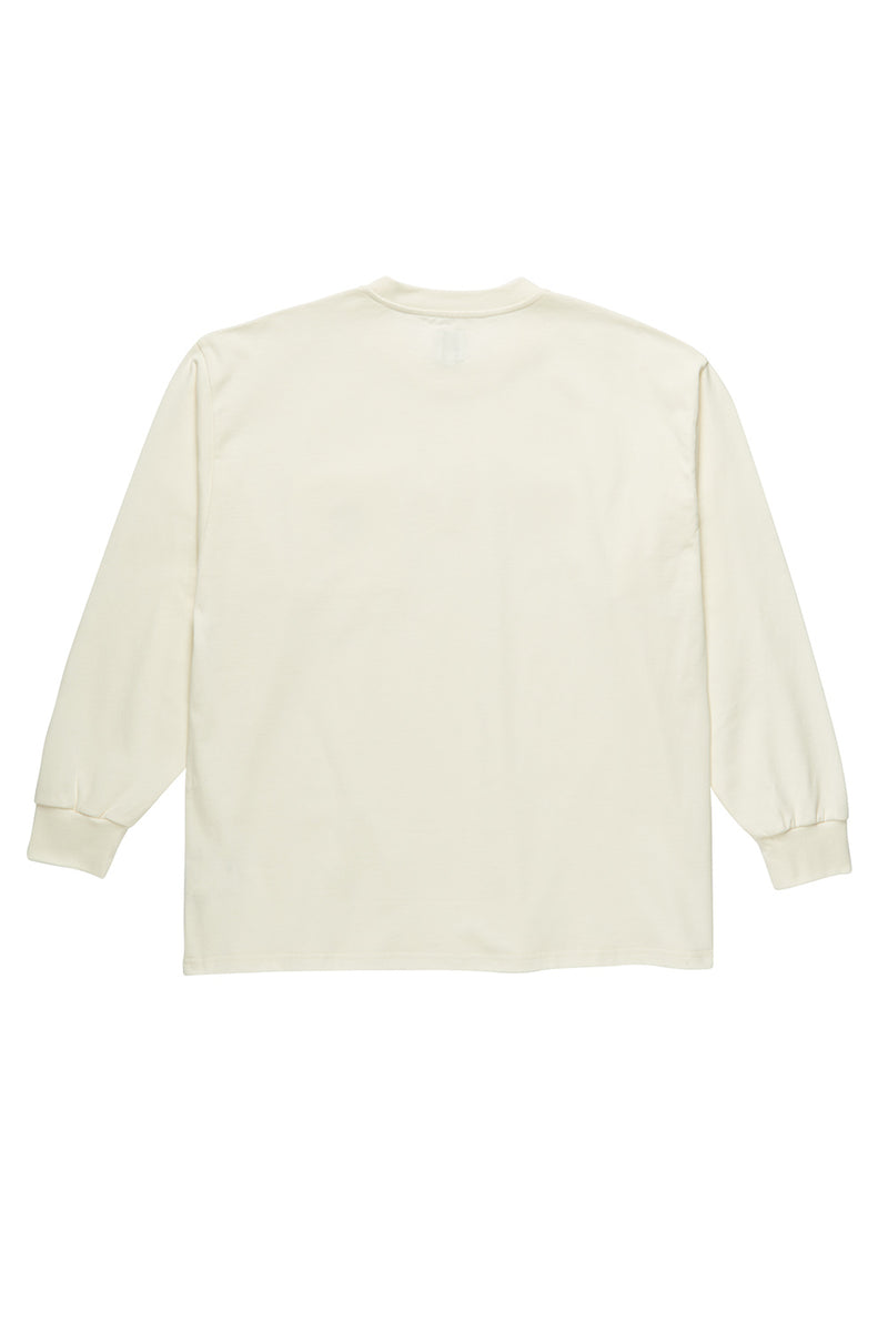 Polar Skate Co Pocket Longsleeve - Ivory