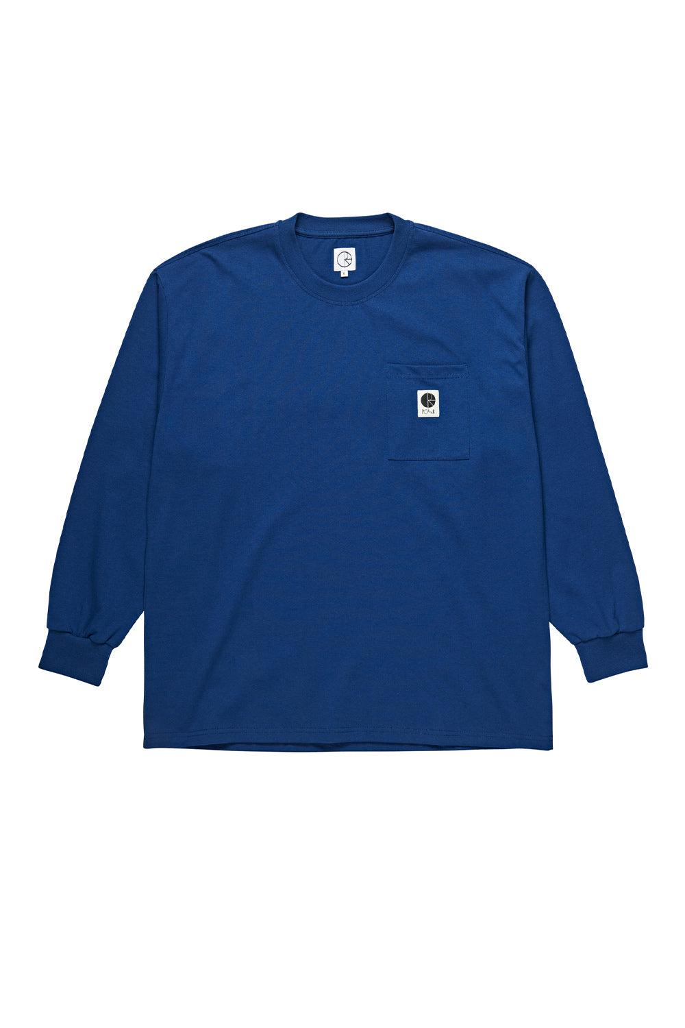 Polar Skate Co Pocket Longsleeve - Dark Blue | Buy Polar Skate Co Online