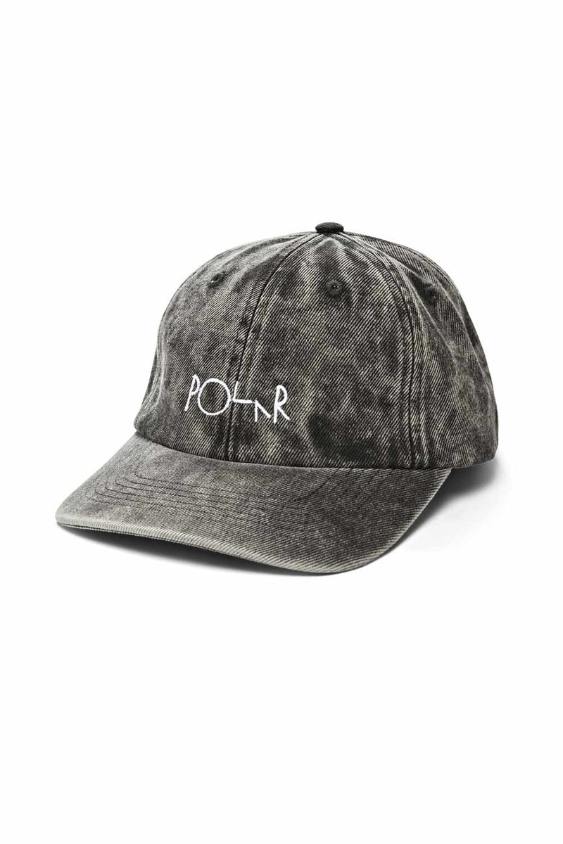 Polar Skate Co Denim Cap - Black Acid | Buy Polar Skate Co Online