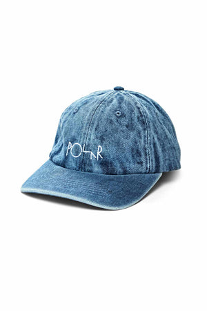 Polar Skate Co Denim Cap - Blue Acid | Buy Polar Skate Co Online