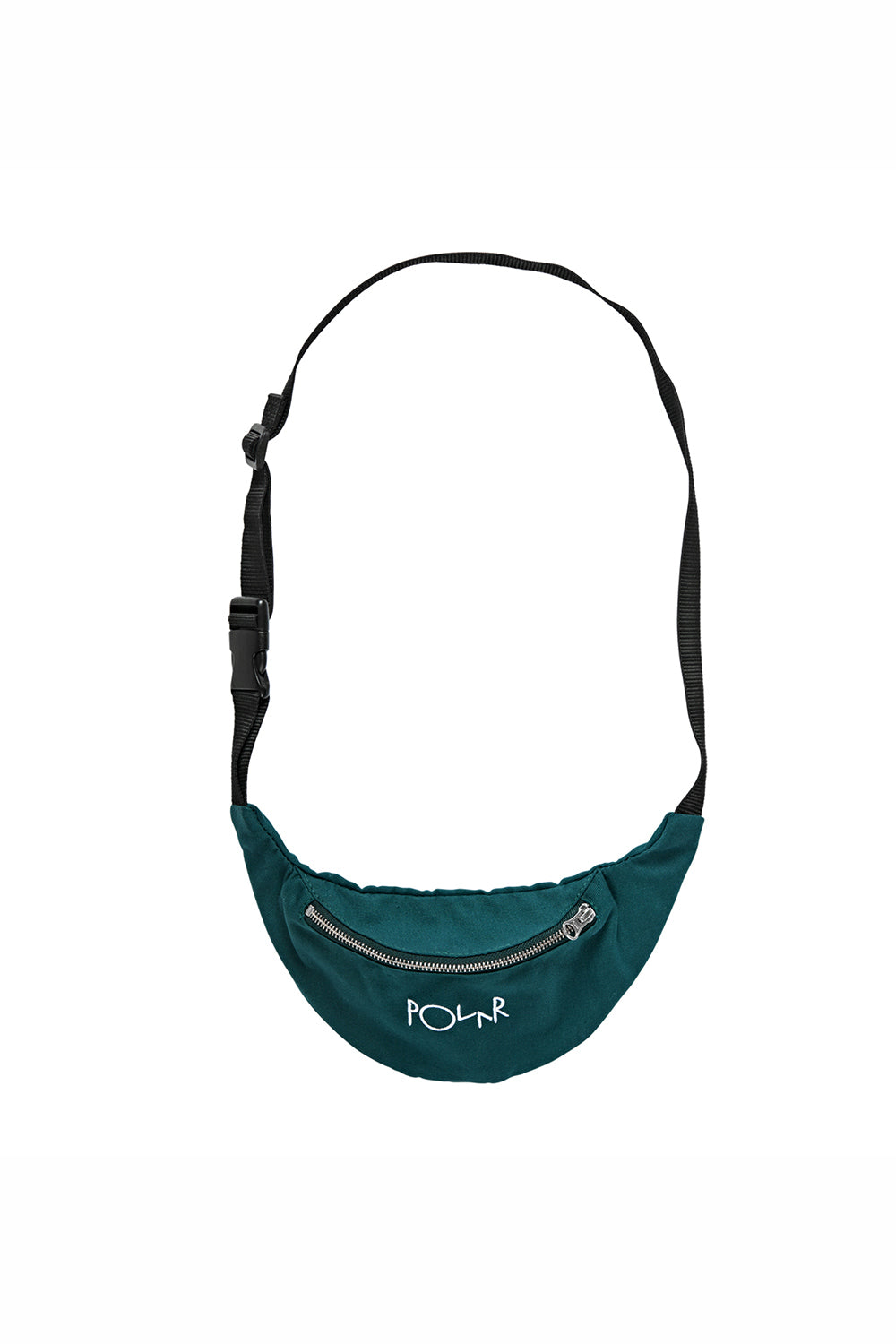 Polar Skate Co Script Logo Hip Bag - Dark Green | Buy Polar Skate Co Online