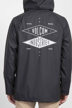 Volcom Industries Rain Jacket - Black