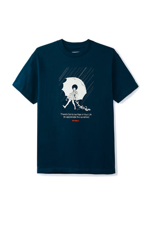 Butter Goods Rain Tee - Navy | Shop Butter Goods Online