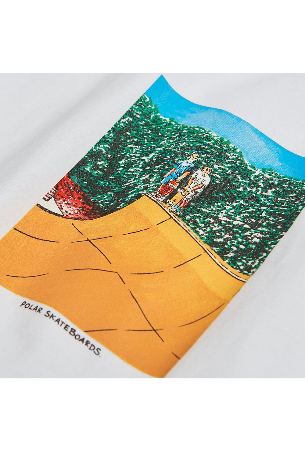 Polar Skate Co Boys On A Ramp T-Shirt