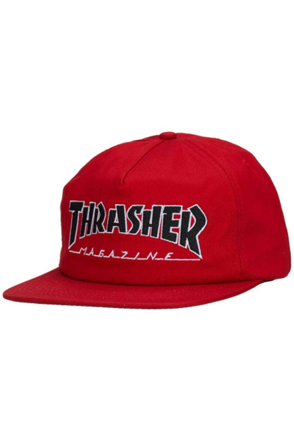 Buy Thrasher Outlined Snapback  0446891183ad