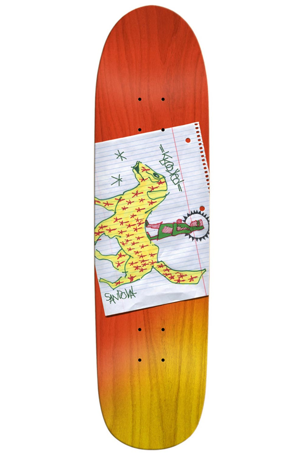 Krooked Ronnie Sandoval Nomad Deck - 8.5""