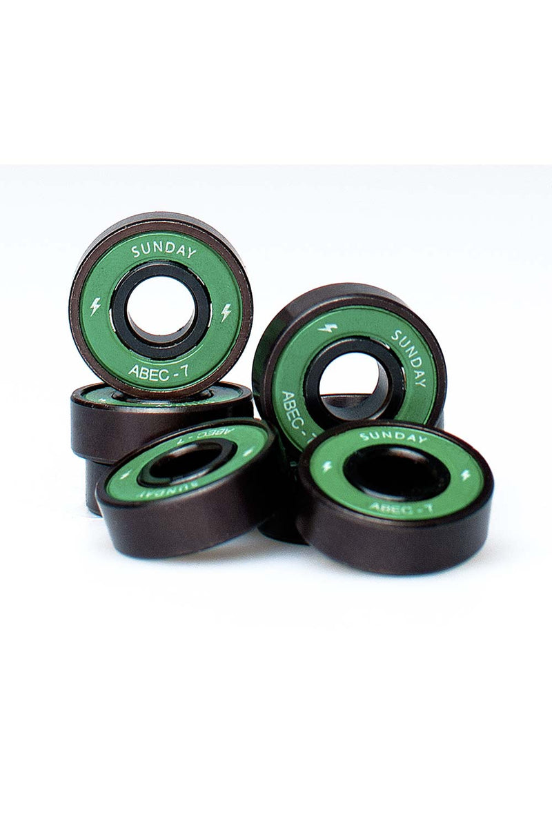 Buy Sunday Screamers Abec 7 Bearings | Buy Sunday Hardware Online