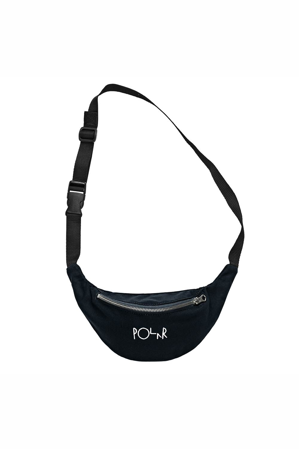 Polar Skate Co Script Logo Hip Bag - Black