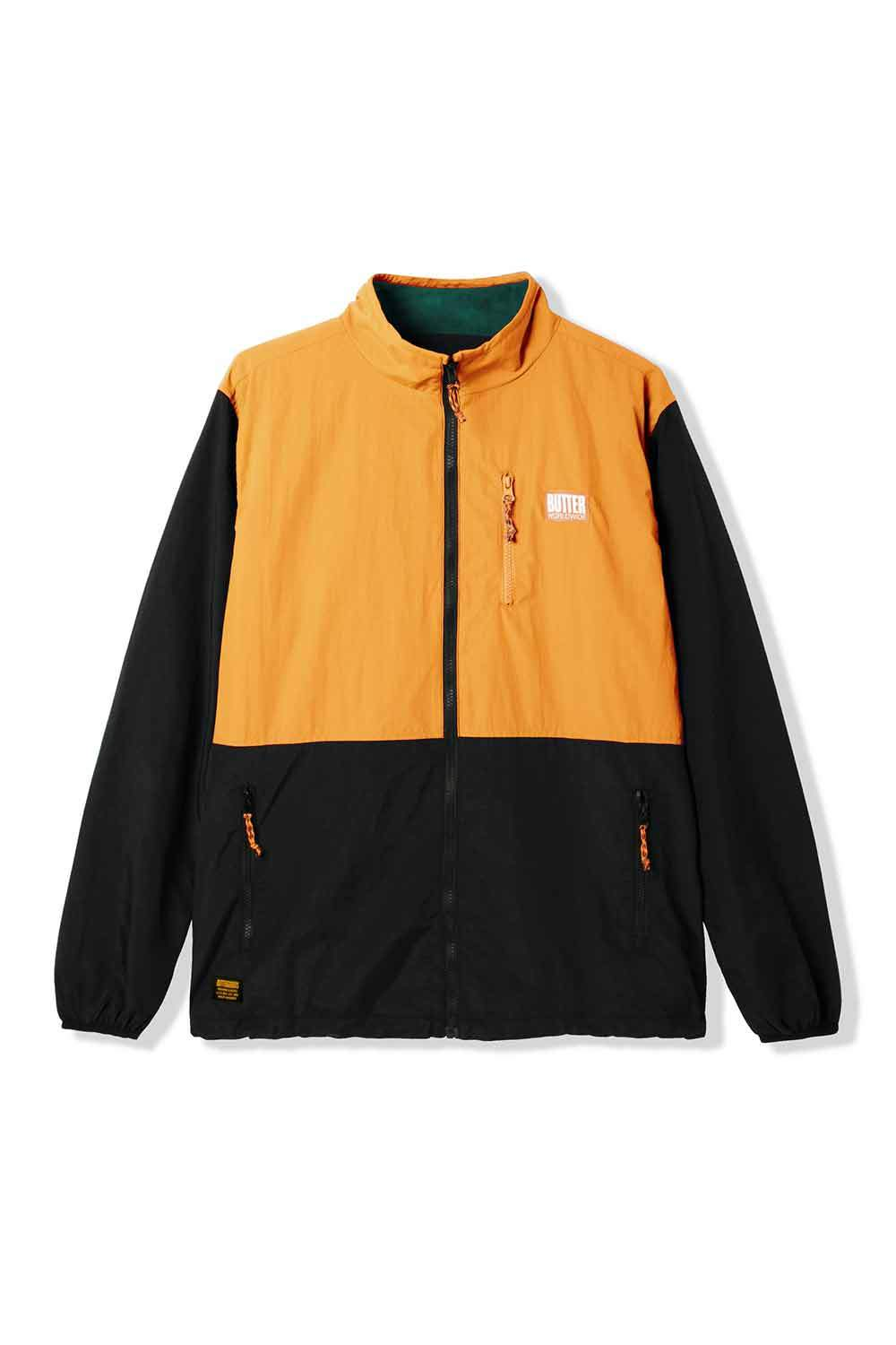 Butter Goods Search Jacket - Black/Peach | Shop Butter Goods Online