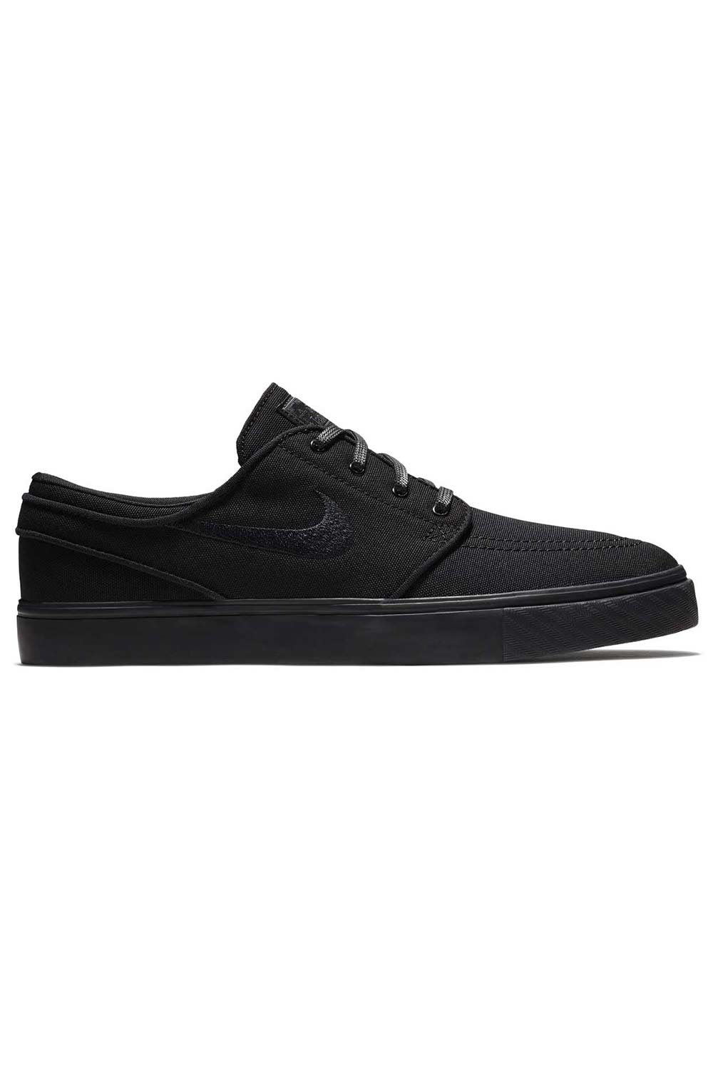 Nike SB Zoom Stefan Janoski Canvas Shoes - Black/Black