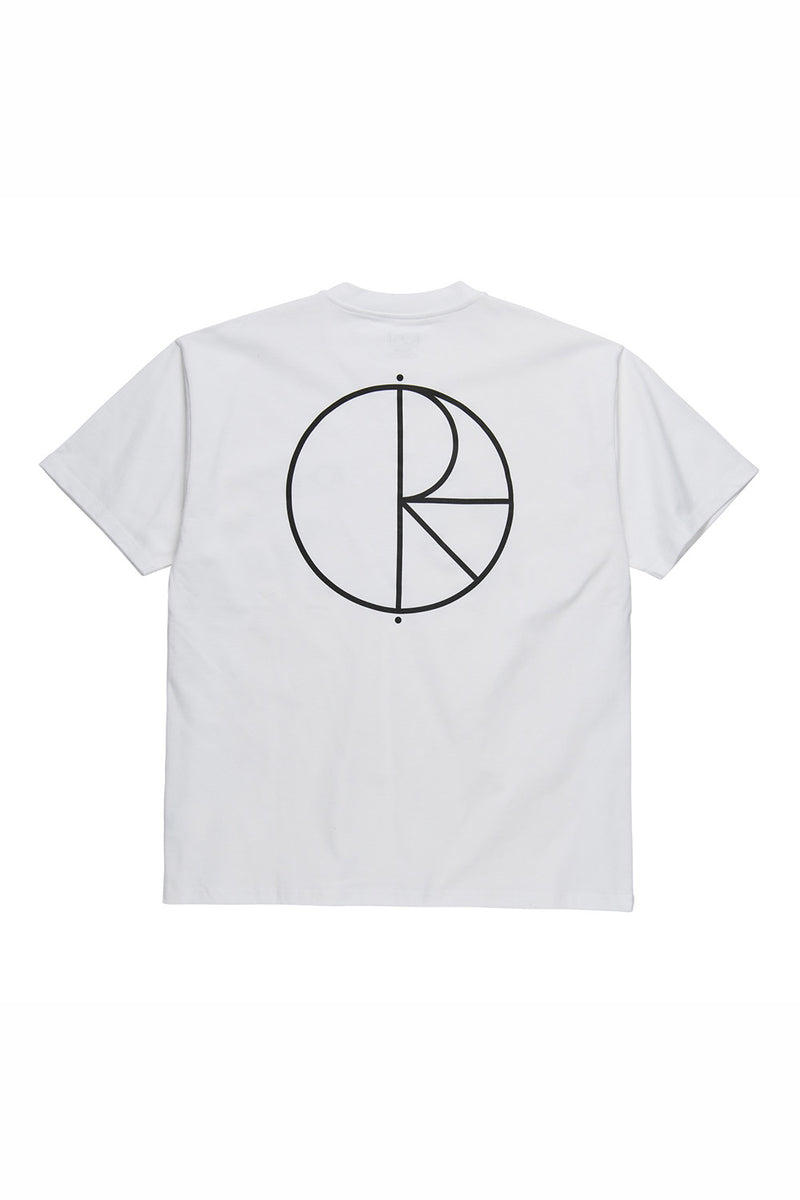 Polar Skate Co Stroke Logo Tee - White
