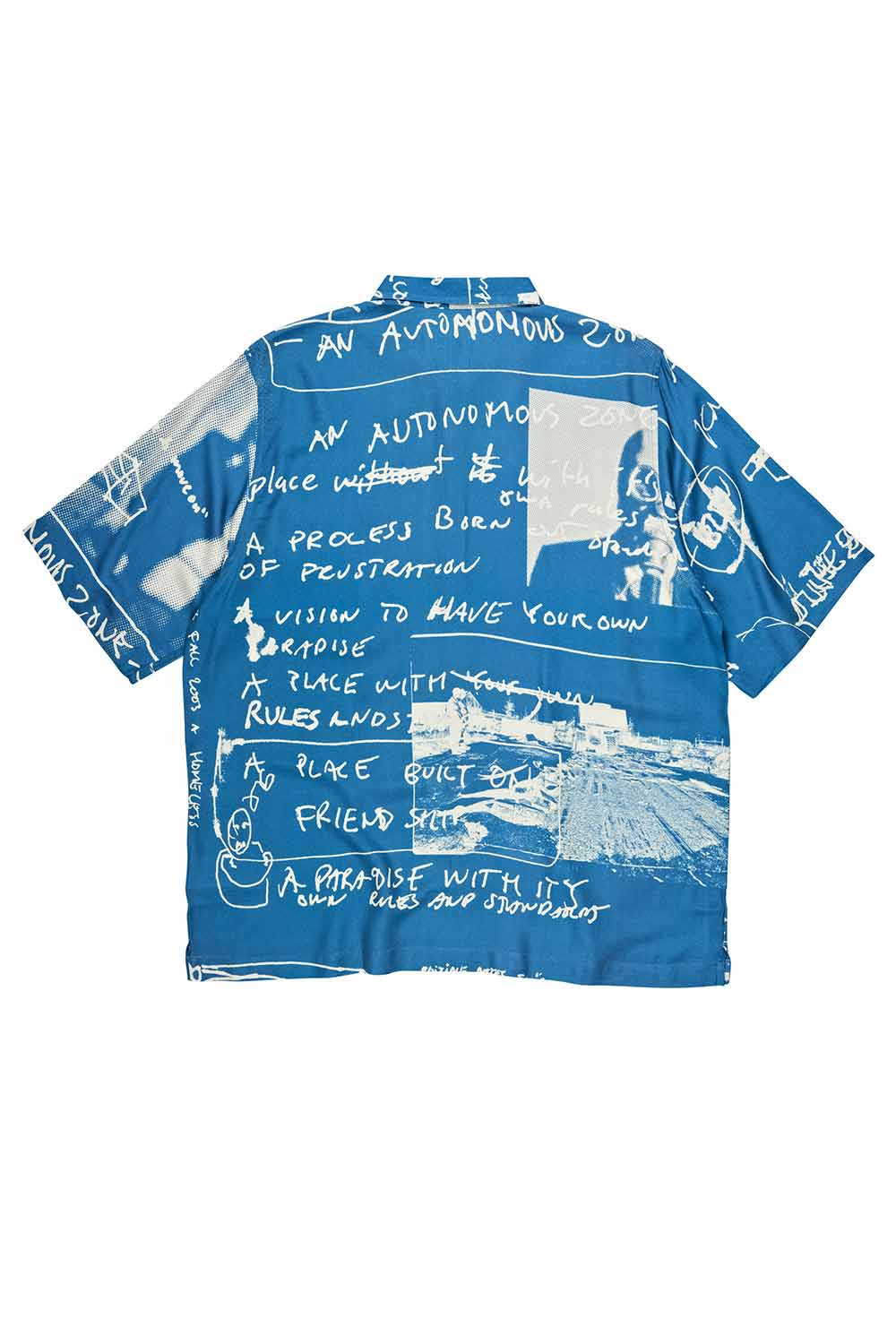 Polar Skate Co Art Shirt - Strongest Notes - Blue