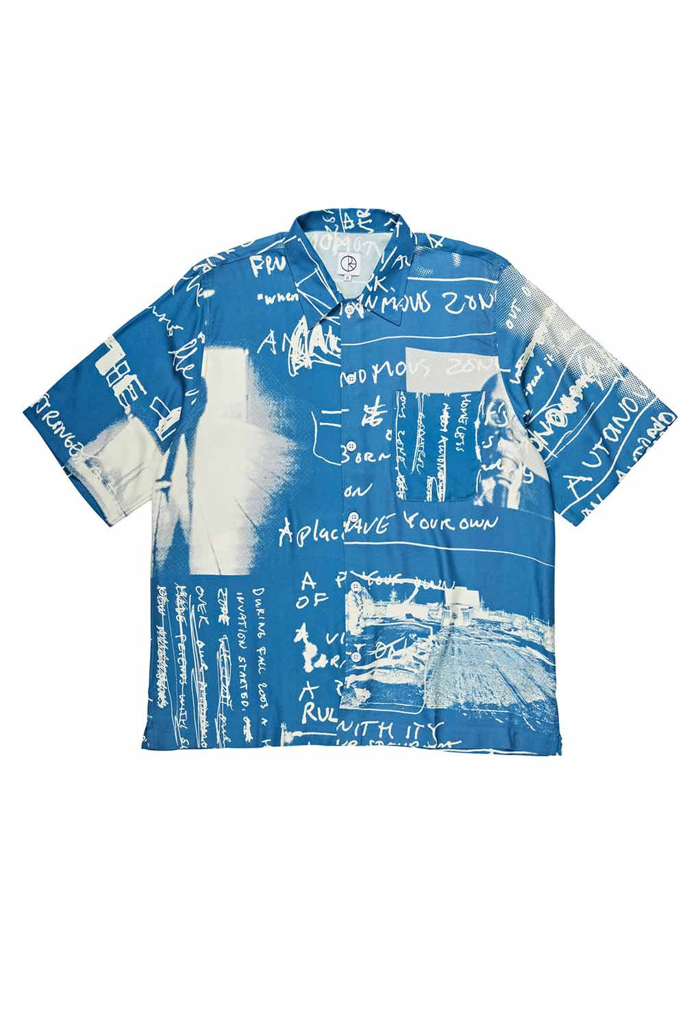 Polar Skate Co Art Shirt - Strongest Notes - Blue | Buy Polar Skate Co Online